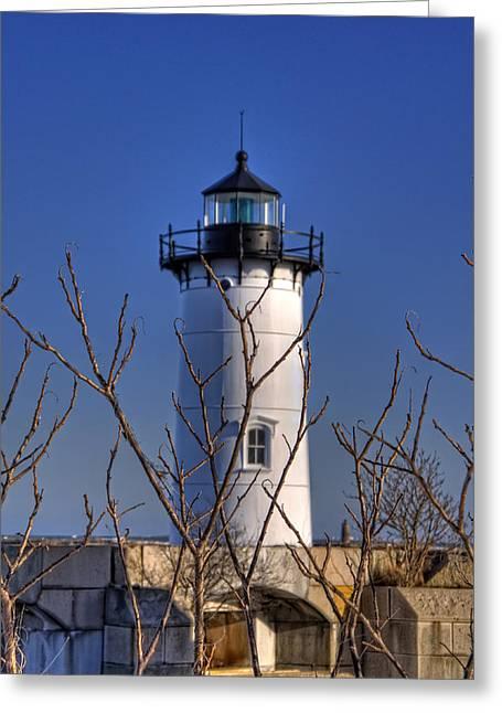 Portsmouth Harbor Light 3 Greeting Card by Joann Vitali