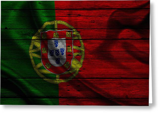 Continent Greeting Cards - Portugal Greeting Card by Joe Hamilton