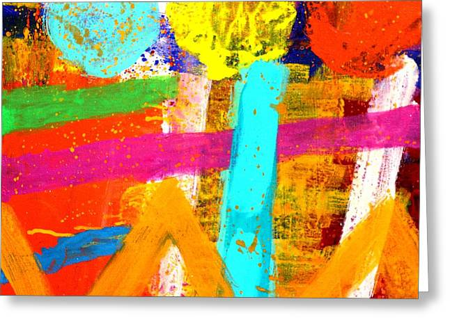 Abstract Movement Greeting Cards - Portuguese Palimpsest Greeting Card by John  Nolan