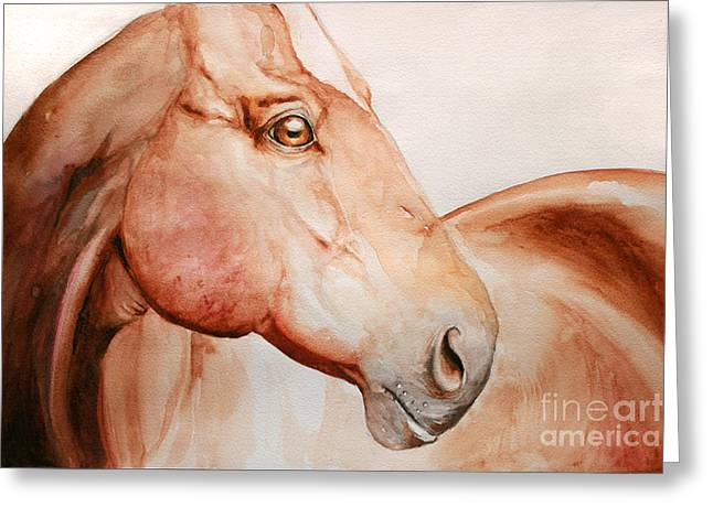 Posing Greeting Card by Tamer and Cindy Elsharouni