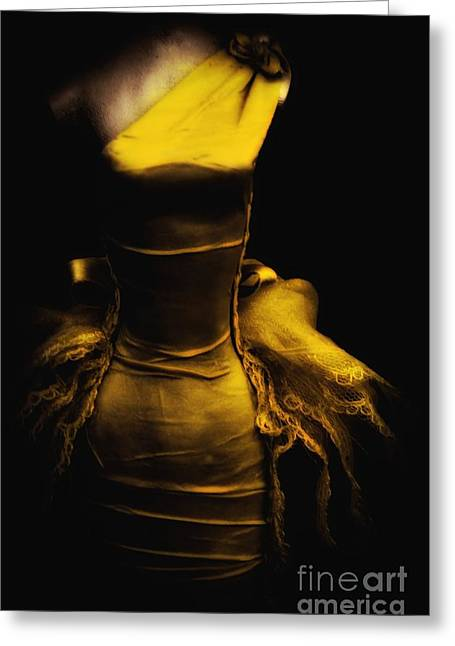 Possessed Greeting Card by Lauren Leigh Hunter Fine Art Photography