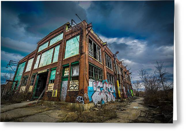 Abandonded Greeting Cards - Post-Apocalypse Greeting Card by Randy Scherkenbach