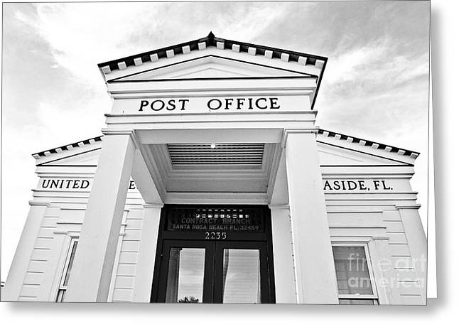 Santa Rosa Beach Greeting Cards - Post Office Greeting Card by Scott Pellegrin