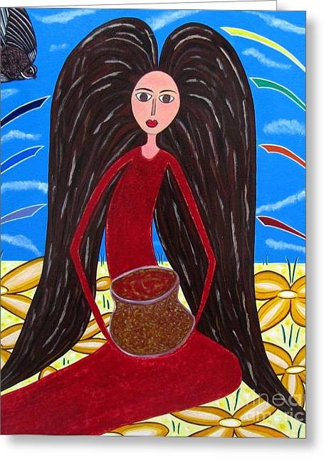 Sandra Marie Adams Greeting Cards - Pot of Gold Greeting Card by Sandra Marie Adams