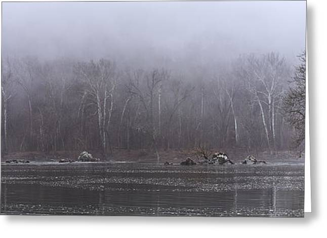 Eerie Greeting Cards - Potomac Panorama Greeting Card by Francis Sullivan