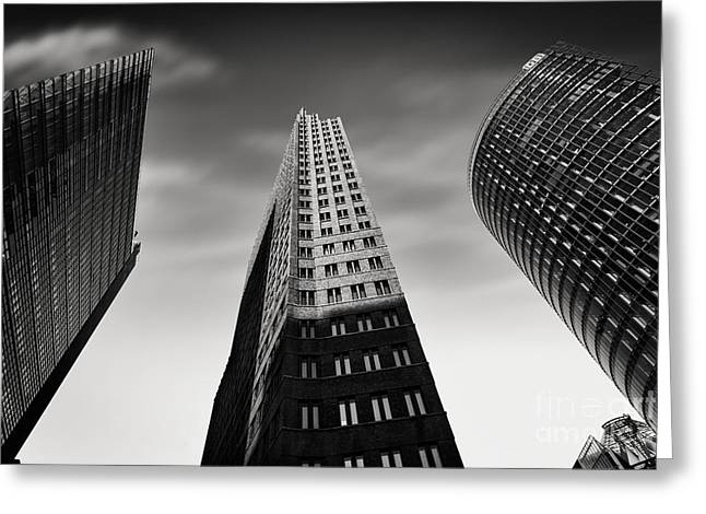Development Greeting Cards - Potsdamer Platz 2 Greeting Card by Rod McLean