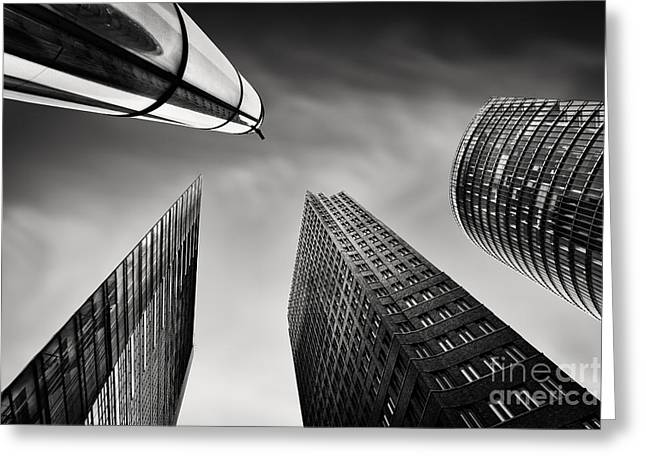 Development Greeting Cards - Potsdamer Platz 3 Greeting Card by Rod McLean
