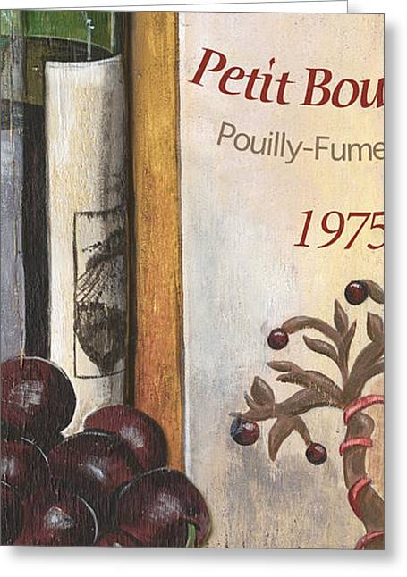 Sauvignon Greeting Cards - Pouilly Fume 1975 Greeting Card by Debbie DeWitt