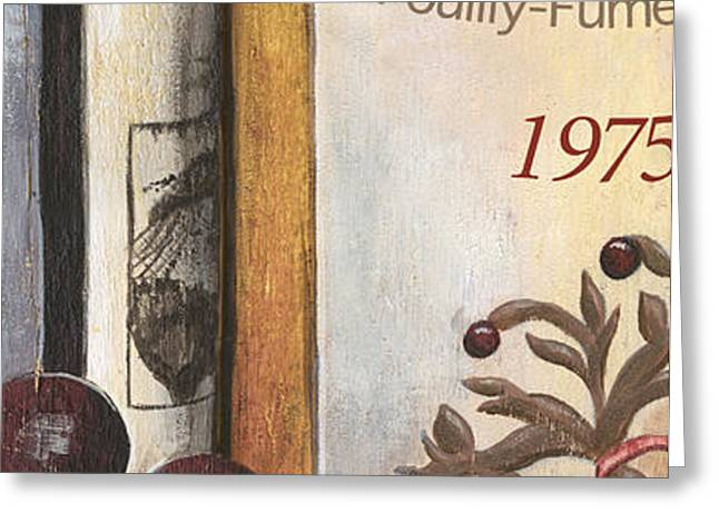 Pouilly Fume 1975 Greeting Card by Debbie DeWitt