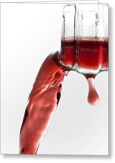 Pouring Wine Greeting Cards - Pouring Wine Greeting Card by Frank Tschakert