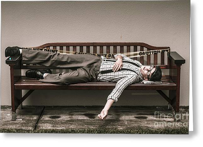 Poverty Stricken Past Greeting Card by Jorgo Photography - Wall Art Gallery