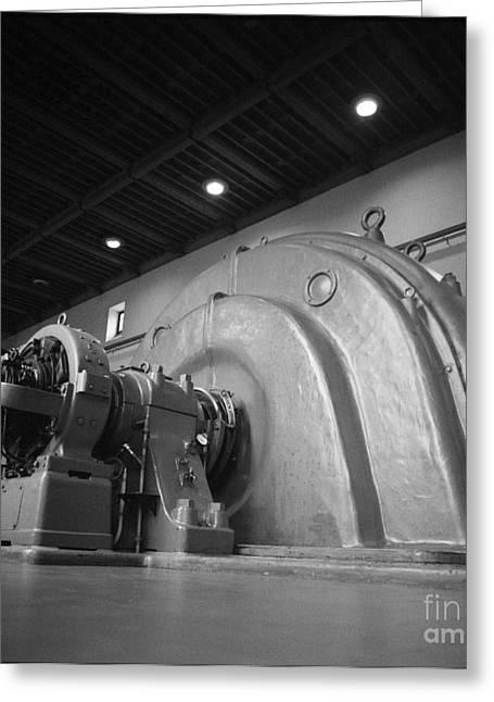 Generators Greeting Cards - Power generators Greeting Card by Riccardo Mottola