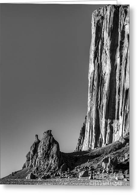 Photography As Art Greeting Cards - Power Of Stone Greeting Card by Bob Christopher