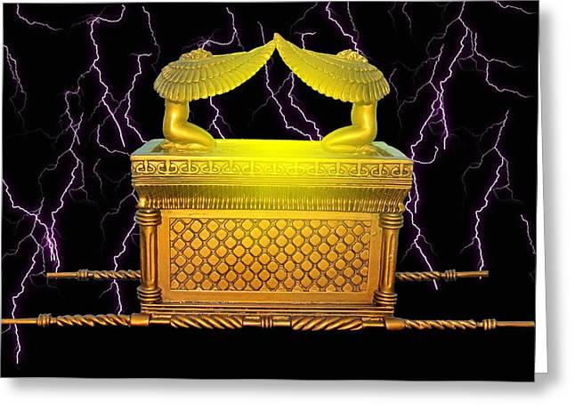 Power Of The Ark Greeting Card by John Swencki