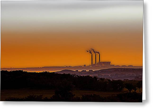 Power Generator Greeting Cards - Power of the Plains Greeting Card by Thomas Bomstad