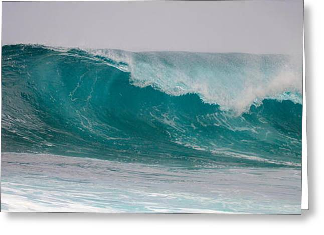 North Shore Greeting Cards - Power of the Sea  Greeting Card by Naturae Sua