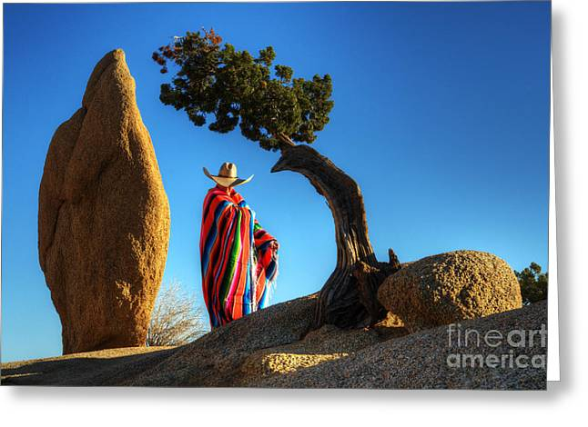 Travel Arizona Greeting Cards - Power Of Thought 1 Greeting Card by Bob Christopher