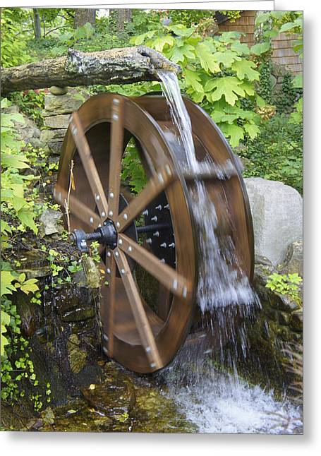 Generators Greeting Cards - Power of Water Greeting Card by Laurie Perry