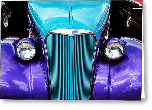 Ford Brown Print Greeting Cards - Power Trio Greeting Card by Joanne Brown