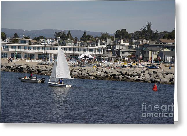 pr 193 - The Sailboat Greeting Card by Chris Berry