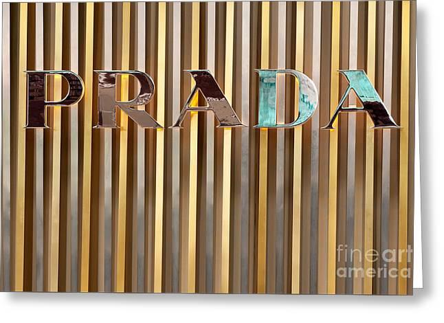 Rick Piper Greeting Cards - Prada 01 Greeting Card by Rick Piper Photography