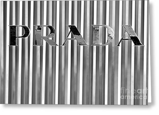 Rick Piper Greeting Cards - Prada 02 Greeting Card by Rick Piper Photography