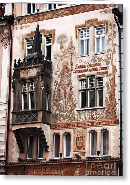 Praga Greeting Cards - Praga Greeting Card by John Rizzuto