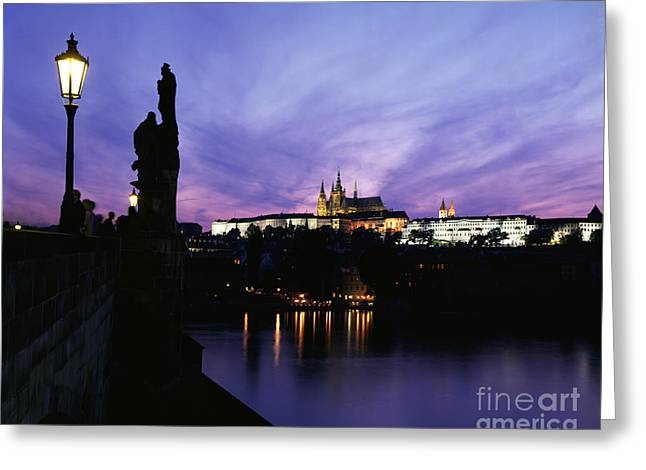 Prague Castle Greeting Cards - Prague Castle Greeting Card by Rafael Macia