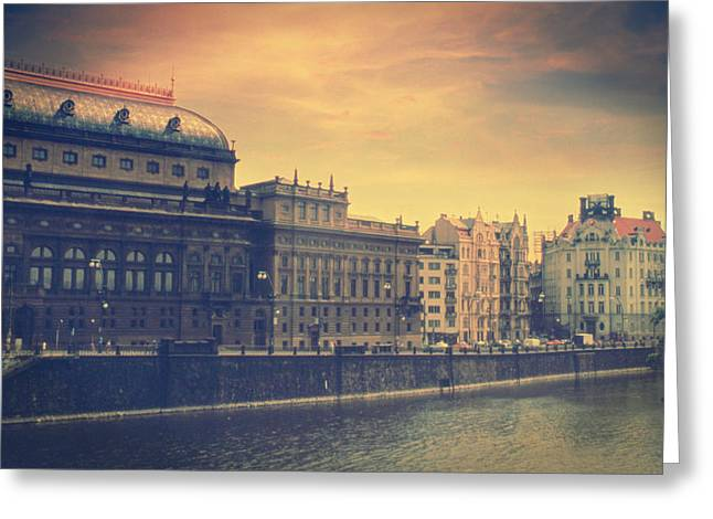 Lomo Colors Greeting Cards - Prague Days Greeting Card by Taylan Soyturk