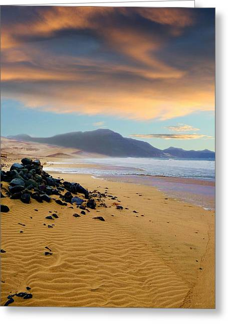 Travel Greeting Cards - Praia do Salamansa Africa Greeting Card by Julia Fine Art And Photography