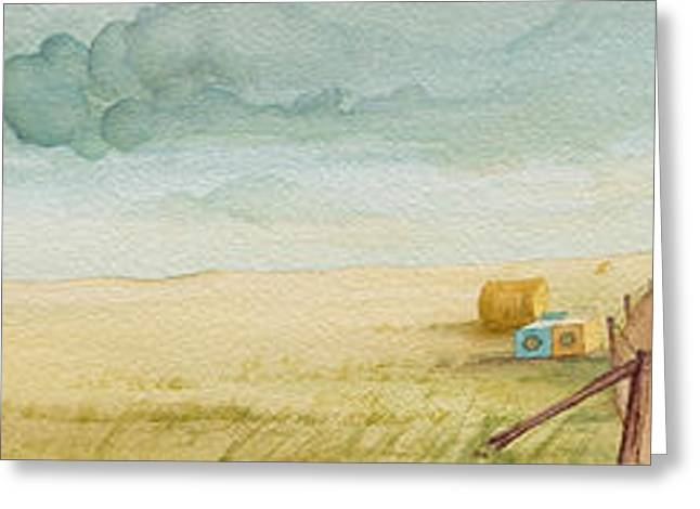 Machine Paintings Greeting Cards - Prairie Candy Greeting Card by Scott Kirby