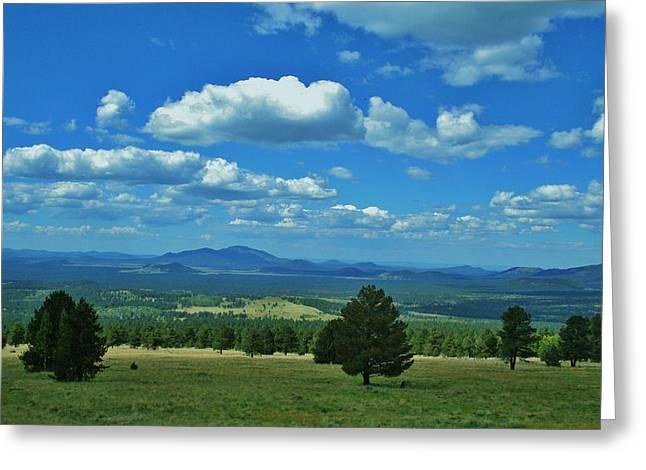 Snowbowl Greeting Cards - Prairie Sky Greeting Card by Kurt Baker