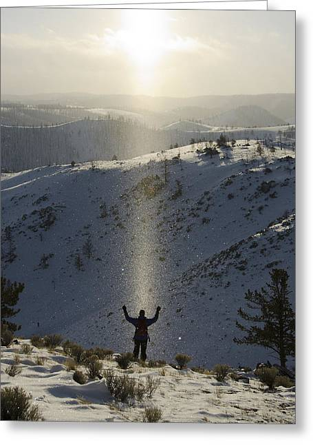 Christian Inspiration Greeting Cards - Praise Greeting Card by Aaron S Bedell