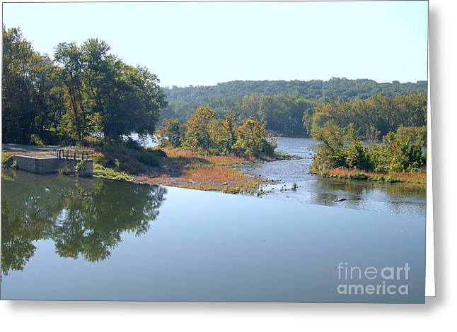 Best Sellers -  - Stockton Greeting Cards - Prallsville Mill Greeting Card by Addie Hocynec