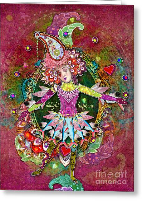 Pranceitude Greeting Card by Aimee Stewart