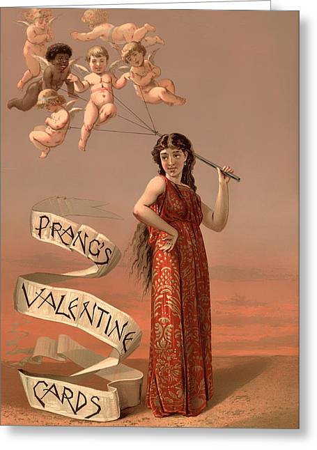Scene Sculptures Greeting Cards - Prangs Valentine Cards Greeting Card by Mountain Dreams