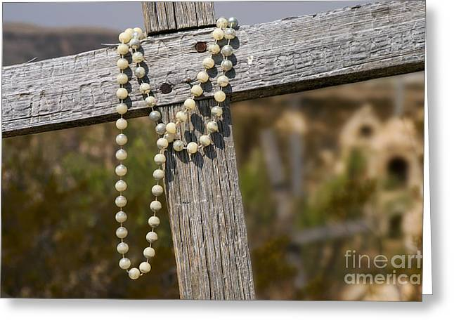 Terlingua Texas Greeting Cards - Prayer Beads Greeting Card by Bob Phillips