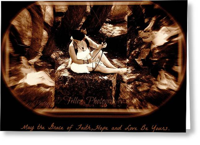 Maryann Greeting Cards - Prayer of Arrow In the Wind Greeting Card by Maryann  DAmico