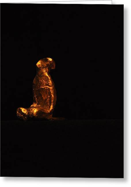 Praying Sculptures Greeting Cards - Prayer Greeting Card by RajKumar Gade