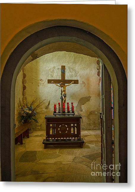 In Focus Greeting Cards - Prayer Room 2 Greeting Card by John Kain