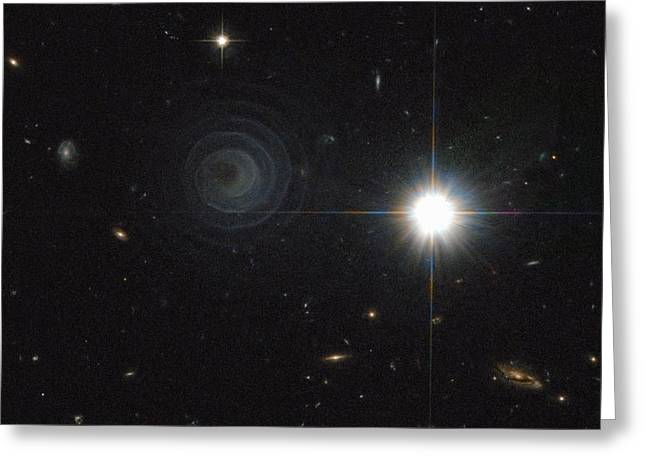 Ira Greeting Cards - Pre-planetary nebula, HST image Greeting Card by Science Photo Library