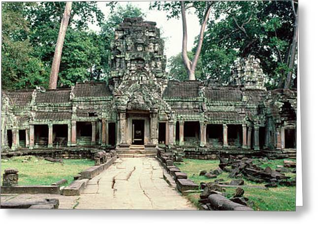 Southeast Asia Greeting Cards - Preah Khan Temple, Angkor Wat, Cambodia Greeting Card by Panoramic Images