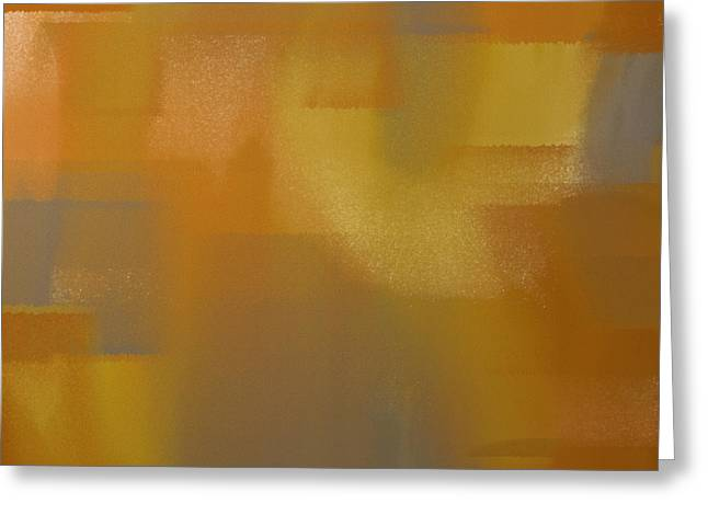 Precious Metals Greeting Cards - Precious Metals Abstract 2 Greeting Card by Andee Design