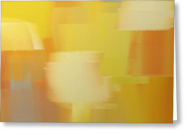 Precious Metals Greeting Cards - Precious Metals Abstract 4 Greeting Card by Andee Design