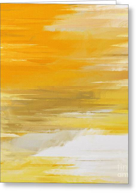 Precious Metals Greeting Cards - Precious Metals Abstract Greeting Card by Andee Design