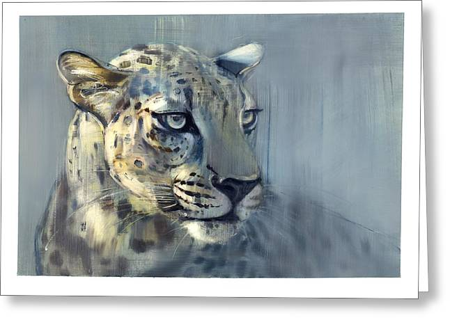 Panthera Greeting Cards - Predator II Greeting Card by Mark Adlington