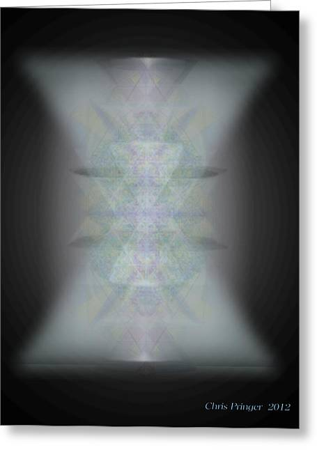 Predawn Chalice Still All One Greeting Card by Christopher Pringer