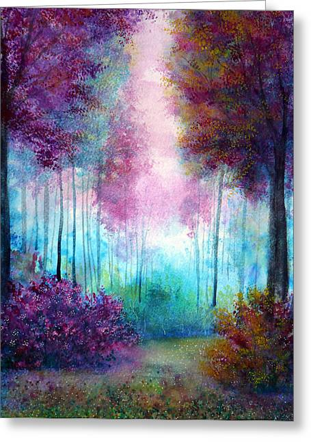 Kinkade Greeting Cards - Prelude Greeting Card by Ann Marie Bone
