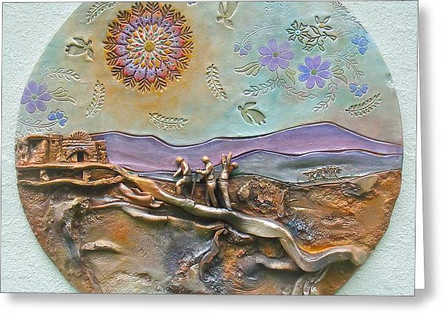 Prelude to a Revelation. Greeting Card by Gary Wilson