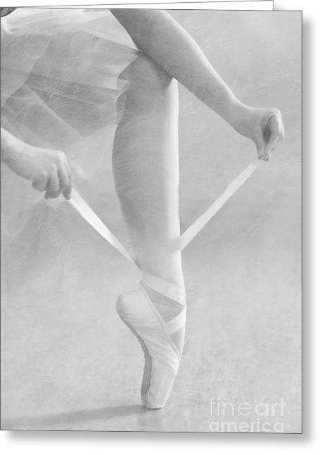 Ballet Dancers Photographs Greeting Cards - Prelude to Dance  - D009020-e Greeting Card by Daniel Dempster